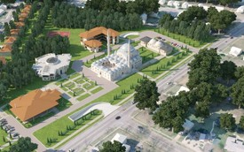 'A Symbol of Friendship' : Turkish PM Lays Stone for $100M Masjid Complex In Maryland