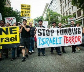 50,000 Protest Israeli Genocide In Gaza,  Demand Obama Stand Up to Israel