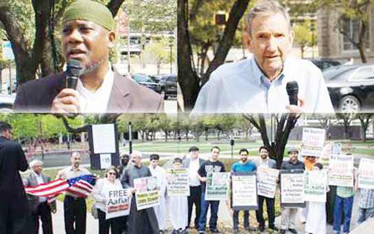 10 Years of Imprisonment for Dr. Aafia Siddiqui marked by Demonstrations in America, London, Pakistan and South Africa