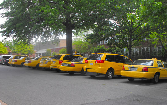 Alexandria Cabbies Protest Yellow Cab Control