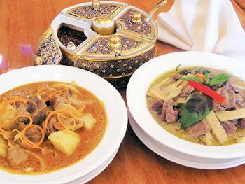 Amina Thai Restaurant Rockville Menu